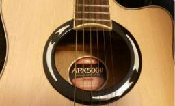 Violão Yamaha Aço APX 500 II