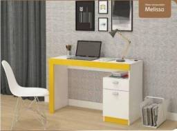 Escrivaninha mesa de computador - Melissa *NOVO* ShopMix Móveis