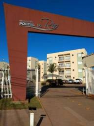 Apartamento com 2 dormitórios à venda no condomínio Portal do Rio, 64 m² por R$ 180.000 -