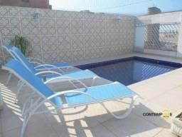 Cobertura com 3 dormitórios à venda, 282 m² por R$ 1.300.000,00 - Ponta da Praia - Santos/