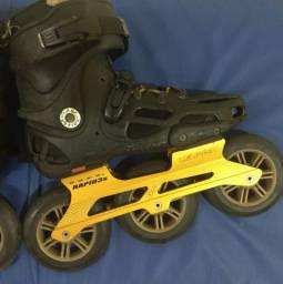 Patins Rollerblade Twister 80 com Base e Roda 125mm