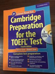 Livro Cambridge Prepararion for the TOEFL Test