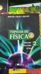Livros tópicos de física 1 e 2