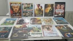 Lote Dvds filmes e músicas