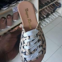 Sandalias de cadarços