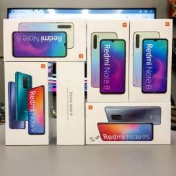 Xiaomi Redmi Note 8 Note 9 - Novo - Garantia - 12x No Cartão - Loja Física
