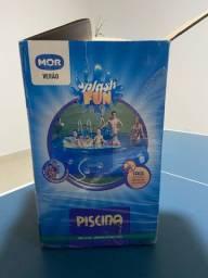 Vende-se piscina Mor 7800 litros, filtro e capa