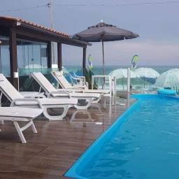 Apartamento frente mar promoção diária mês Dezembro 1 a 20 195 reais a diária