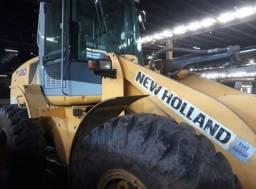 Vende-se Pá Carregadeira W130 New Holland - Ano: 2009