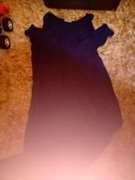 Vestido longo grávida