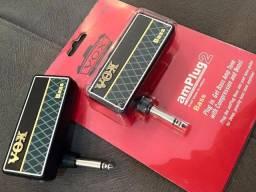 Amplificador vox amplug bass ap2-bs - estude em qualquer lugar!