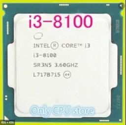 Processador i3 8100 SEMI-NOVO