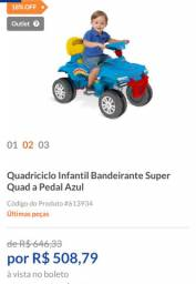 QUADRICICLO SUPER SQUAD