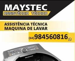 Assistencia tecnica em lavadoras. zap *