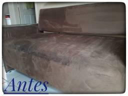 Higienização de sofá, cama, bancos de carro e etc.