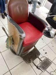 Cadeira antiga barbeiro