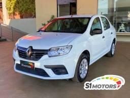 Título do anúncio: Renault Logan Life 1.0 Branco