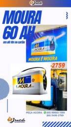 Título do anúncio: bateria para Seu Corolla não ficar parado Moura 60 ah