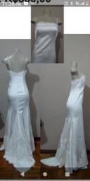 Título do anúncio: Vestido de noiva novo