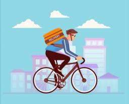 Título do anúncio: *Entregador delivery*(bike)