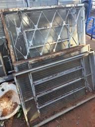 Título do anúncio: Lote de janelas de aço