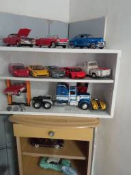 Coleção carros em miniaturas