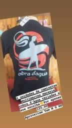 Título do anúncio: Kit de 5 camisetas multimarcas maresia cobra d'água
