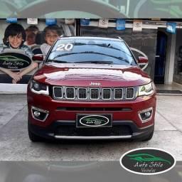 Jeep Compass Limited Vermelho 2020 Completo