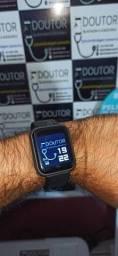 Smartwatch mais vendido do Brasil! Película Anti-impacto e conector de carregamento!