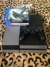 Título do anúncio: Playstation 4 FAT - ps4