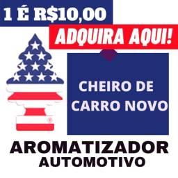 Título do anúncio: Aromatizante Chegou - (Bandeira Americana)