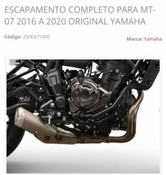Título do anúncio: ESCAPAMENTO MT 07