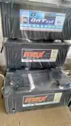 Bateria 150 amperes Max Premium 1ano de garantia