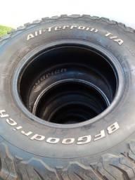 Título do anúncio: 4 pneus bf goodrich 285/ 75 / 16