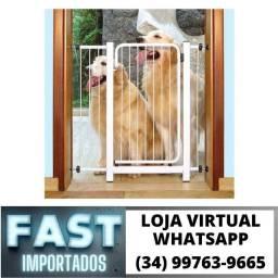 Grade Proteção para Porta 70 a 80cm * Crianças / Cachorro