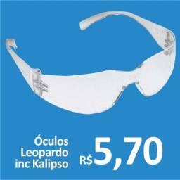 Óculos Leopardo Incolor - Kalipso - Promoção R$5,70