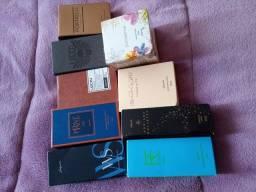 Urgente Vendo perfume da Jequiti,kit de shampoo e condicionador,e creme corporal