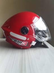 Título do anúncio: Capacetes Moto Aberto Pro Tork New Liberty 3 Vermelho