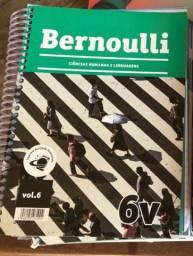 Coleção Apostilas Bernoulli- 6v