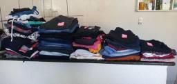 78 peças de roupas feminina
