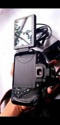 Título do anúncio: Câmera t5i, lente 35mm, uma case, 3 baterias.