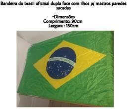 Atacado Brasil Bandeiras 3 unid