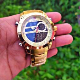 Relógio Naviforce (NF9163) Dourado