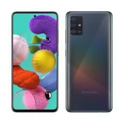 Título do anúncio: Galaxy A51 2.3 Ghz Octa-Core, 4 GB Ram Preto (Novo)