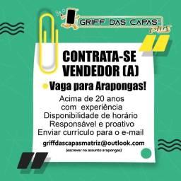 Título do anúncio: Vaga de emprego Griff das Capas- Filial de Arapongas-Pr