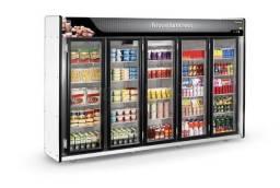 Expositor refrigerado 5 portas Refrimate *douglas