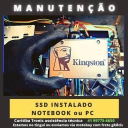SSD instalado