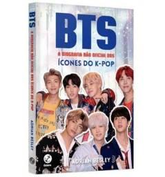 Título do anúncio: Livro-BTS A biografia não oficial dos ícones do K-pop + uma foto do bts de brinde