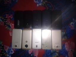 Vendo lote com 10 celulares com pequenos defeitos