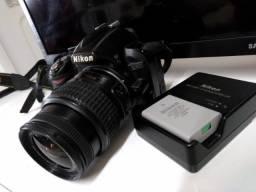 Título do anúncio: Nikon 3100 + lente 18-55